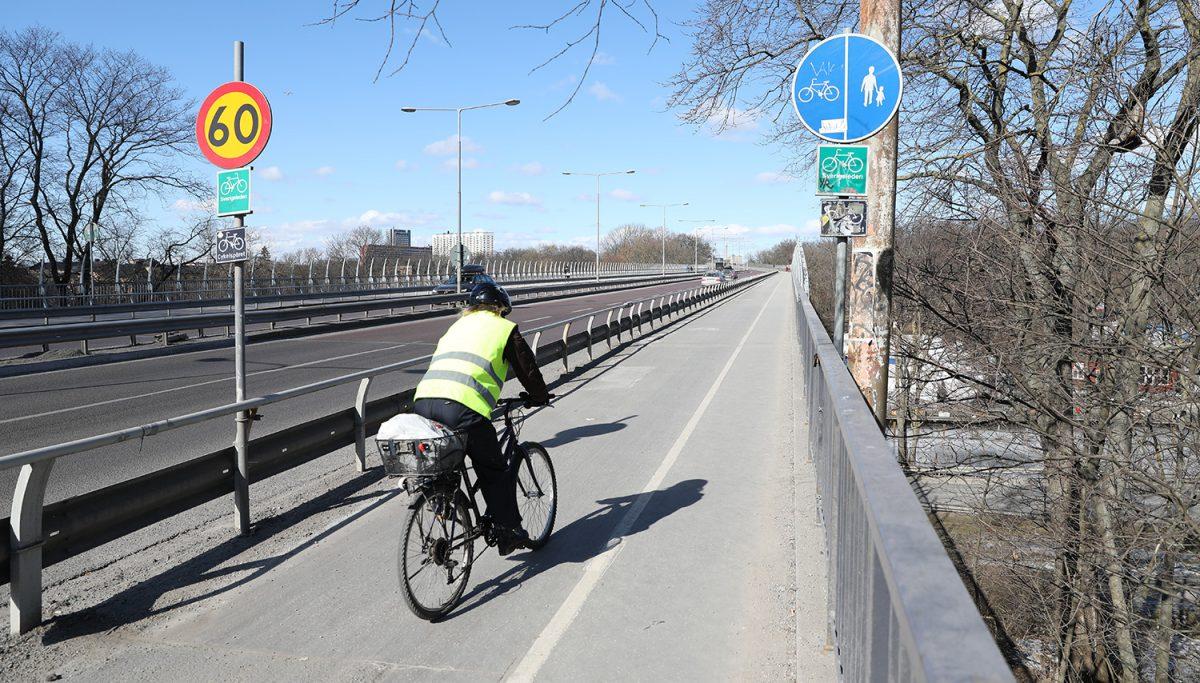 Cykling Västerbron