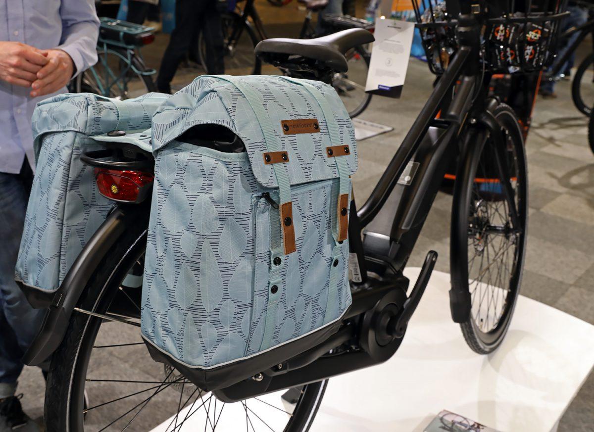 Batavus elcyklar är utrustade med racktime pakethållarsystem