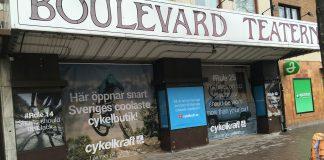 Cykelkraft butik Götgatan