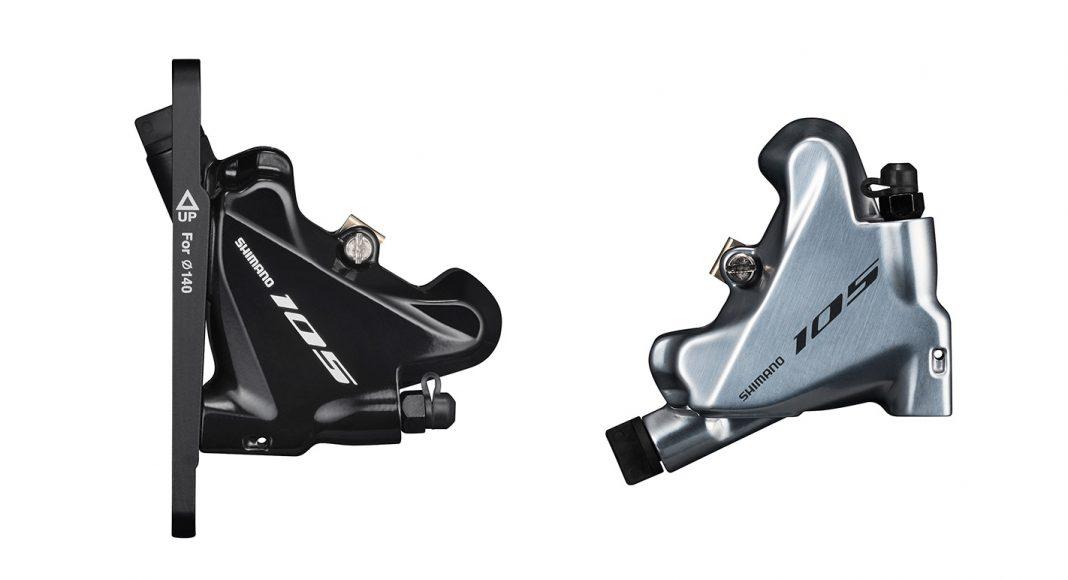 Shimano BR-R7070 disc brakes