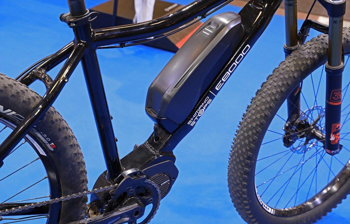 Shimano Steps E8000 battery