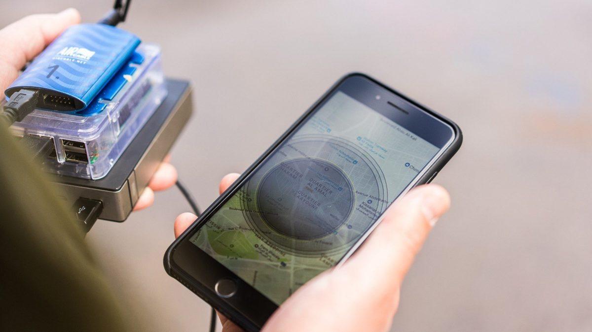 Vanmoof GPS tracker