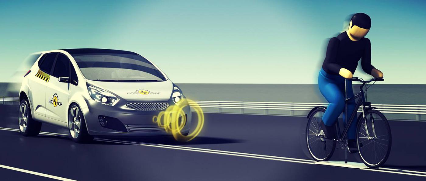 Euro NCAP cyclist AEB
