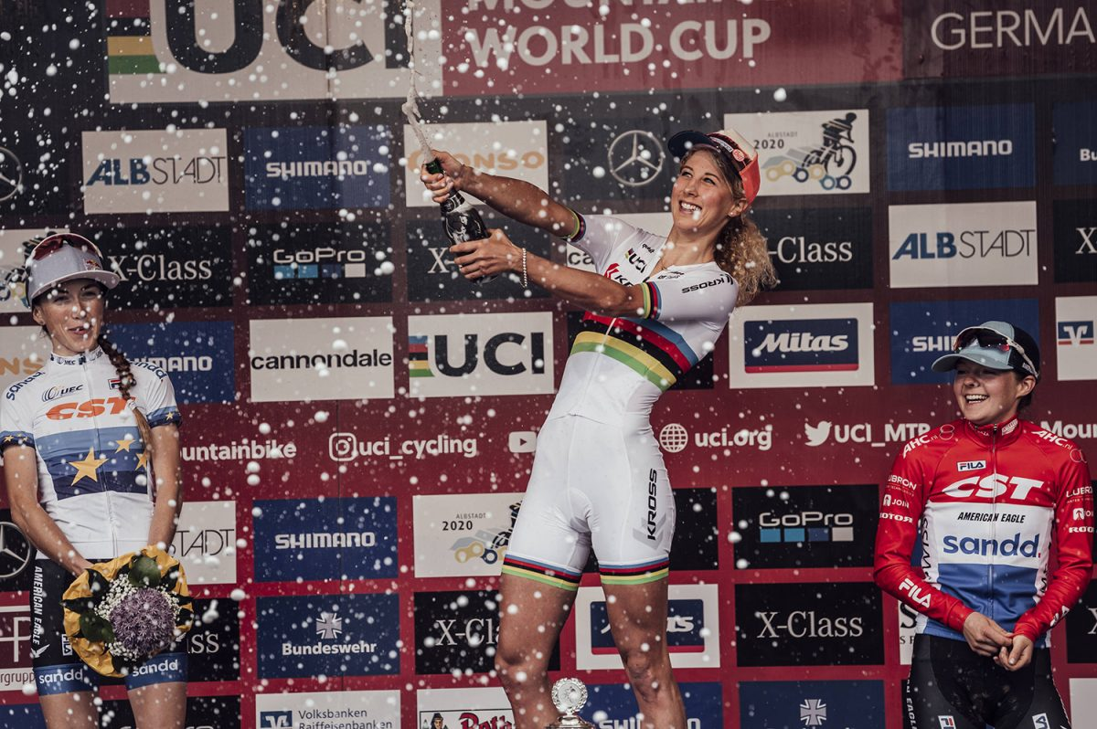 UCI XCO Albstadt Women podium
