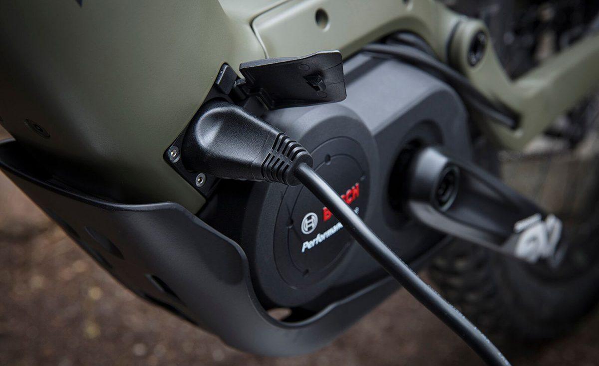 Trek Powerfly Onboard Battery Charging