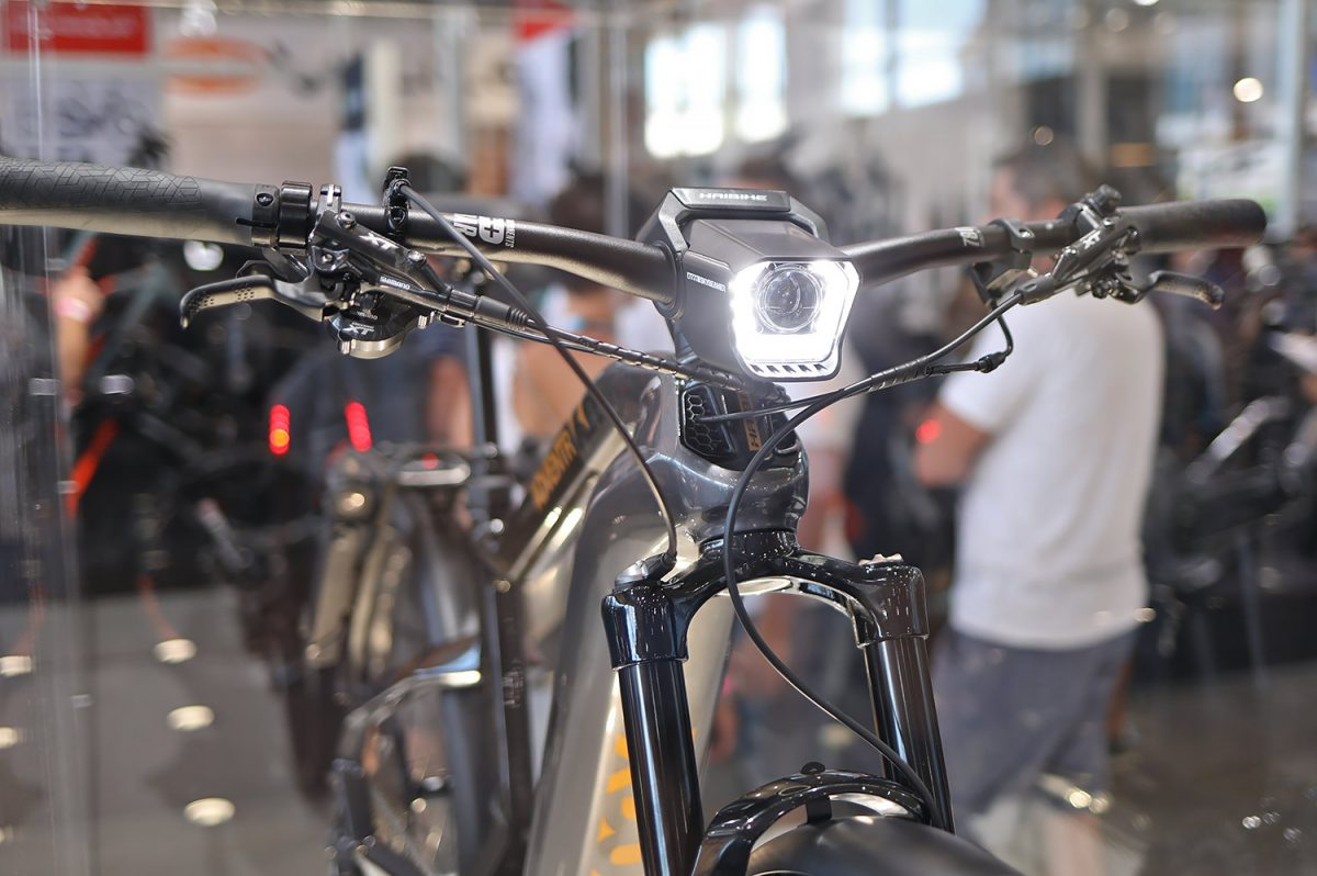 Haibike Flyon Xduro head light