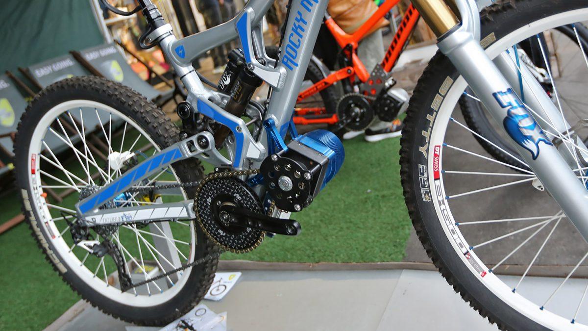 Inte elcykel NTF