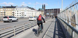 VTI Cykelbana Liljeholmen