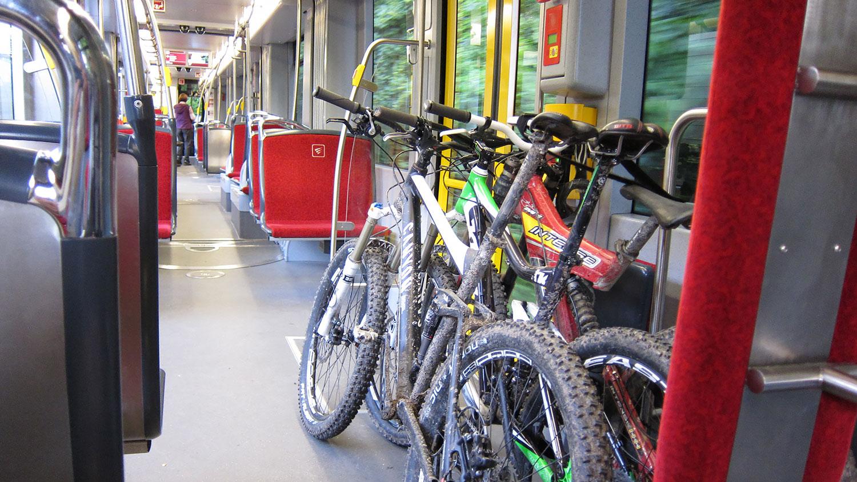Cykel på tåg