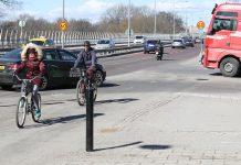 Cyklister känner sig otrygga i trafiken