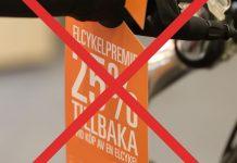 ingen elcykelpremie 2019