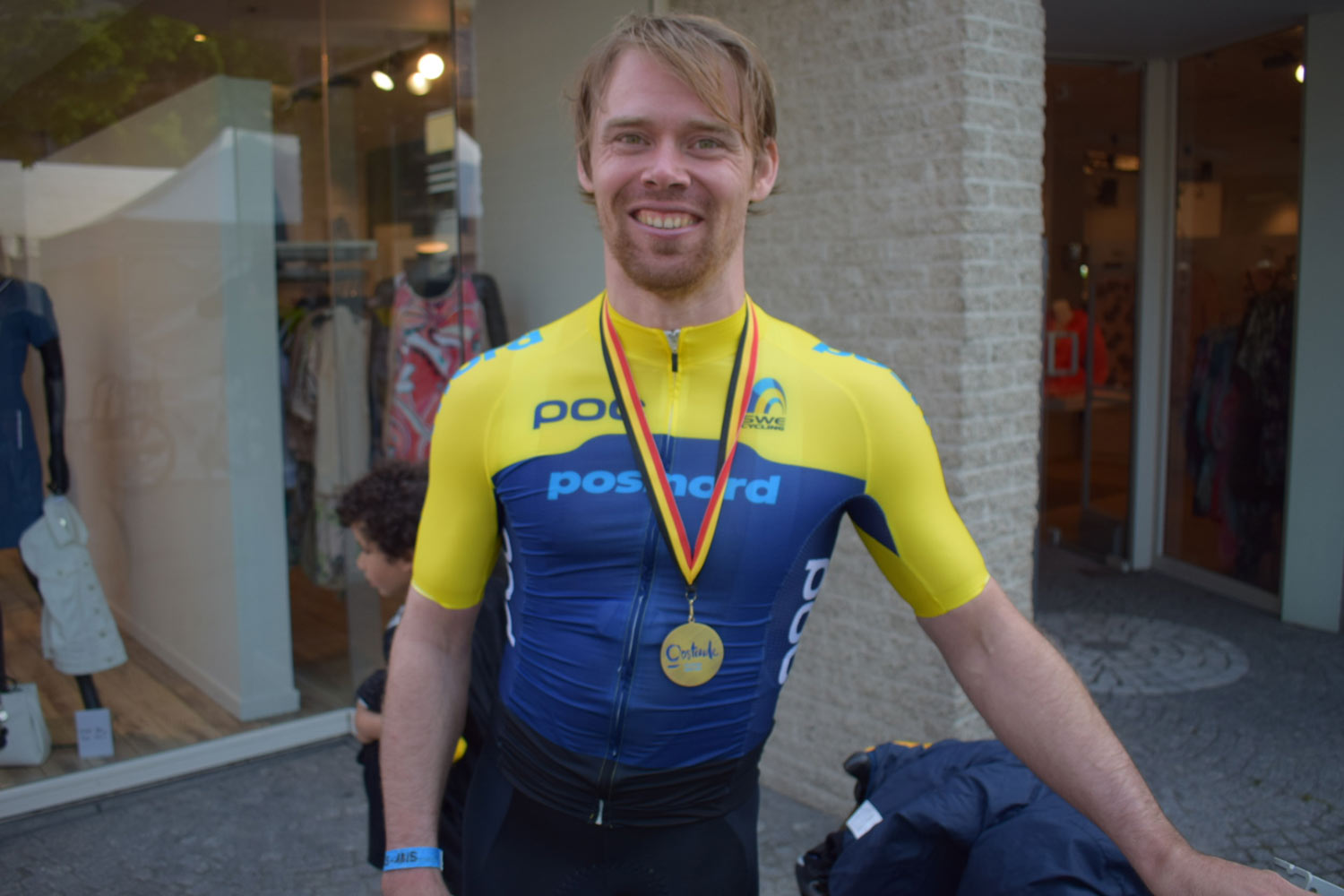 Rickard Nilsson Brons World Cup Oostende