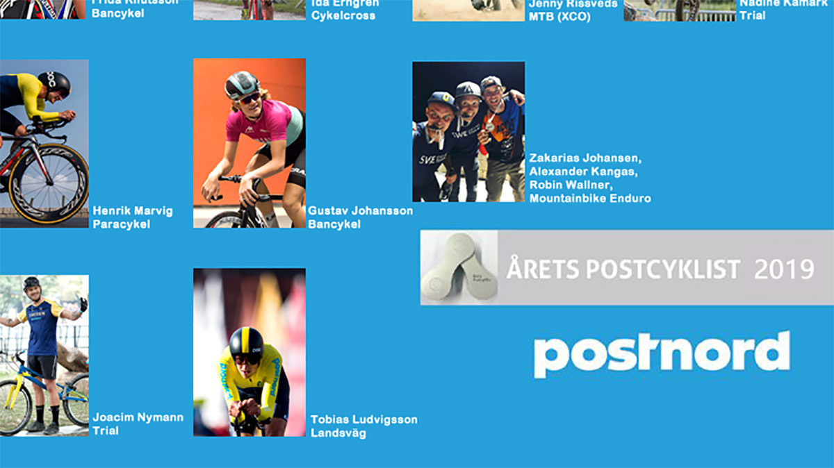 Årets Postcyklist 2019