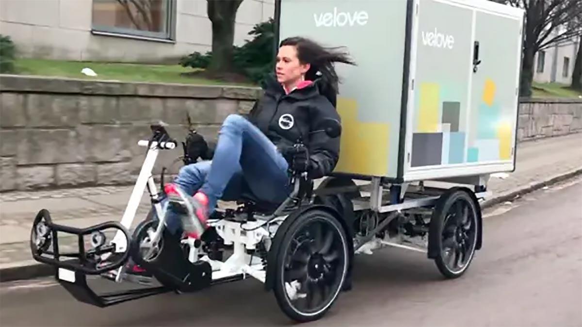 Sista kilometern lastcykel